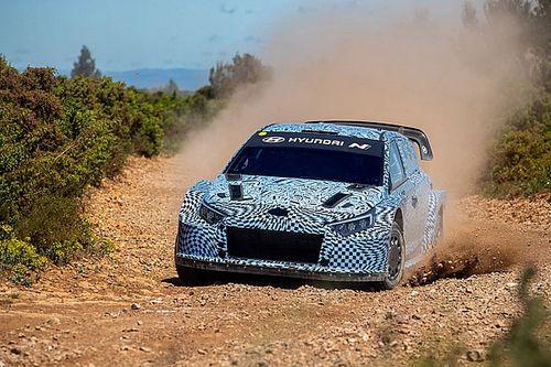 WRC: Hyundai svela le prime foto della i20 N Rally1