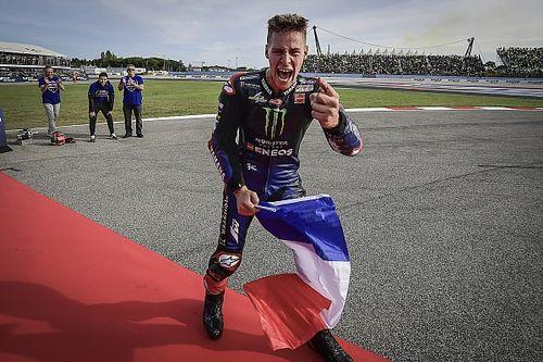 """Quartararo: """"Ser campeón de MotoGP es un sueño desde que nací"""""""