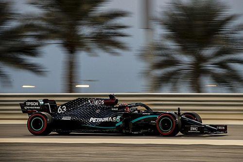 Расселл стал быстрейшим в первой же тренировке за Mercedes