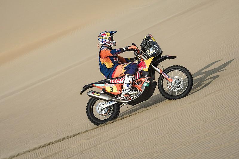 KTM's Price takes second Dakar crown as Quintanilla falls