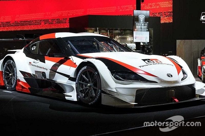 Toyota представила в Токіо гоночну GR Supra Super GT