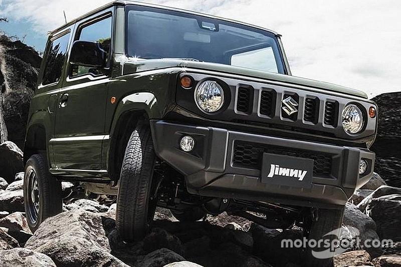 Suzuki готова презентувати пікап і позашляховик на базі Jimny