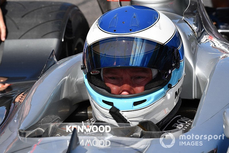Міка Хаккінен протестував McLaren F1 GTR на Лагуна Сека