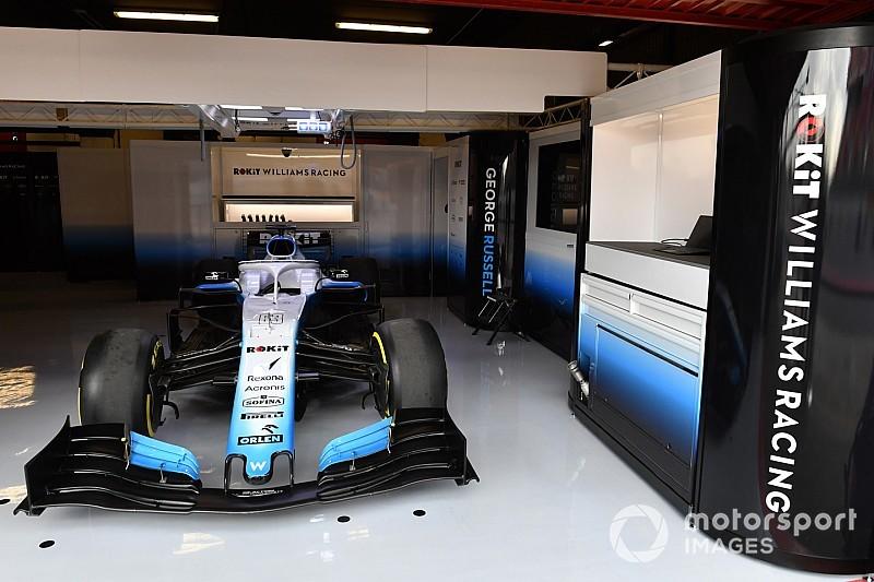 El coche de Williams llegará a Barcelona este miércoles por la mañana