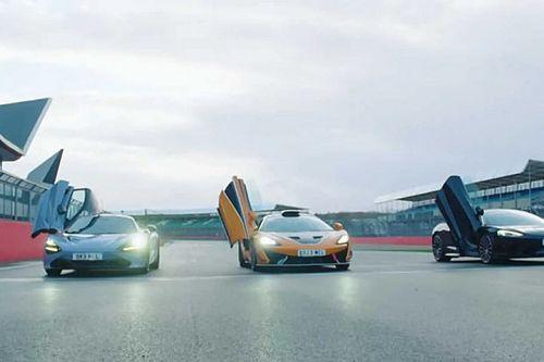 Videó: Silverstone-ban versenyzett McLaren két F1-pilótája főnökükkel
