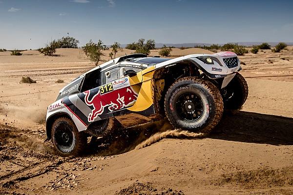 Watch Team Peugeot Total put their foot down for 2018 Dakar Rally