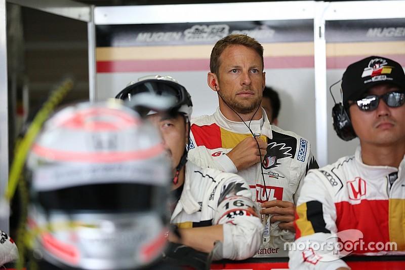 Button twaalfde bij debuut in Super GT
