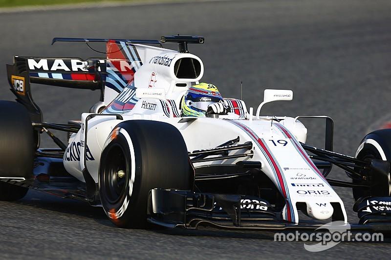 """【F1】バルセロナテスト:ハースとウイリアムズも""""Tウイング""""テスト"""