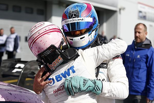 DTM Yarış raporu Nurburgring DTM: Auer kazandı, Mercedes domine etti