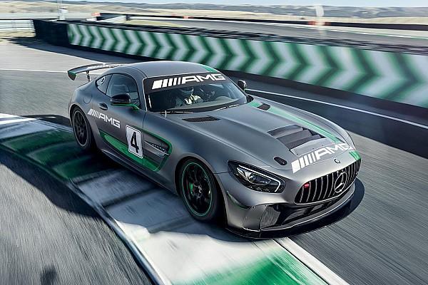 GT4 European Series Nieuws Mercedes onthult nieuwe GT4-wagen