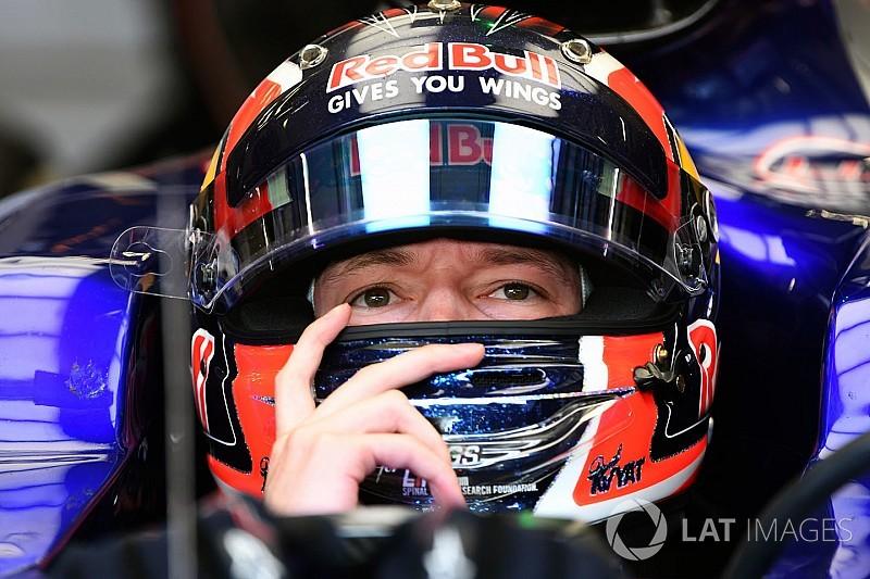 Kvyat, listo para renovar con Toro Rosso