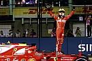 シンガポールGP予選:ベッテル、逆境跳ね返す神業ラップでポール獲得