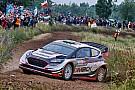 【WRC】ポーランド初日:首位エバンス。ラッピ6番手もエンジンに問題