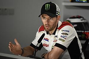 """MotoGP Noticias de última hora Crutchlow: """"En agua no es lo mismo correr solo que con 25 pilotos"""""""