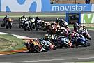 Moto2 33 pilotes sur la grille du Moto2 en 2018