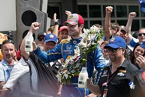 """IndyCar 博客 """"笔记本"""":百届Indy 500,""""菜鸟""""亚历山大·罗西夺冠"""
