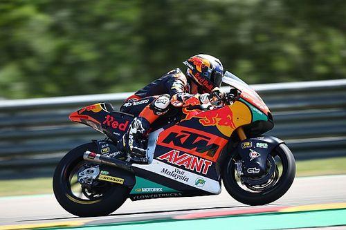 Moto2 Almanya sıralama turları: Raul Fernandez, tur rekorunu kırarak pole pozisyonunu kazandı