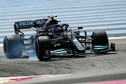 Bottas no sabe si el cambio de chasis le está ayudando en Francia