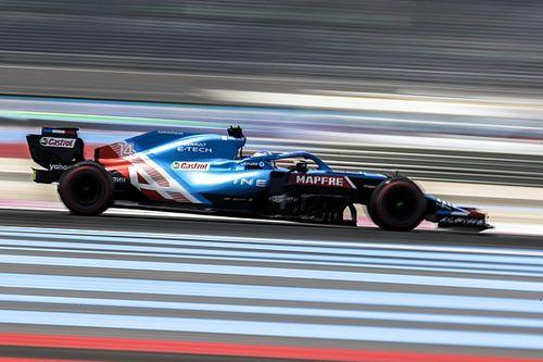 """Alonso, cuarto en Francia: """"Podemos estar bastante satisfechos"""""""