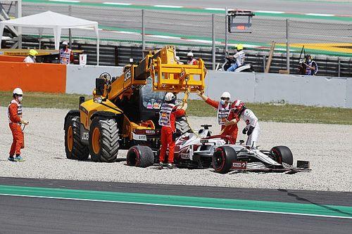 【F1動画】第4戦スペインGPフリー走行1回目ハイライト