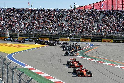 Организаторы Гран При России планируют принять 30 тысяч зрителей