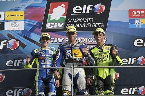 CIV PreMoto3, Bianchi e Cangelosi vincono al Mugello