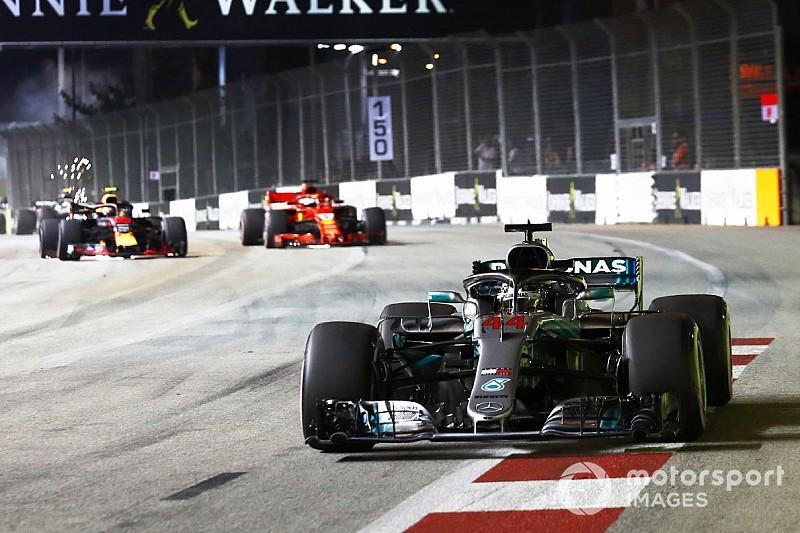GP Singapura: Menang lagi, Hamilton makin mantap di puncak