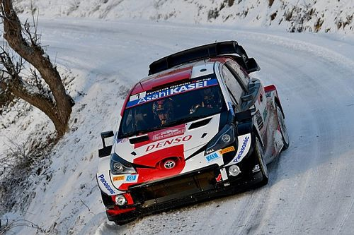 Monte Carlo WRC: Ogier leads Toyota 1-2-3 after Tanak's DNF