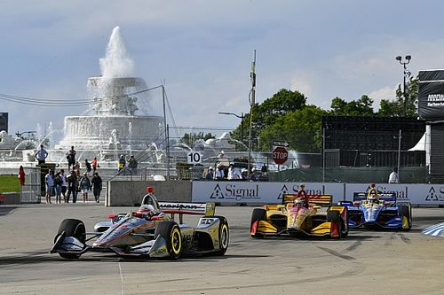 IndyCar and IMSA Chevrolet Detroit GP – weekend schedule