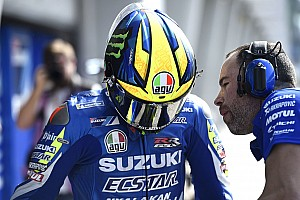 Los cascos de los pilotos en la pretemporada de MotoGP