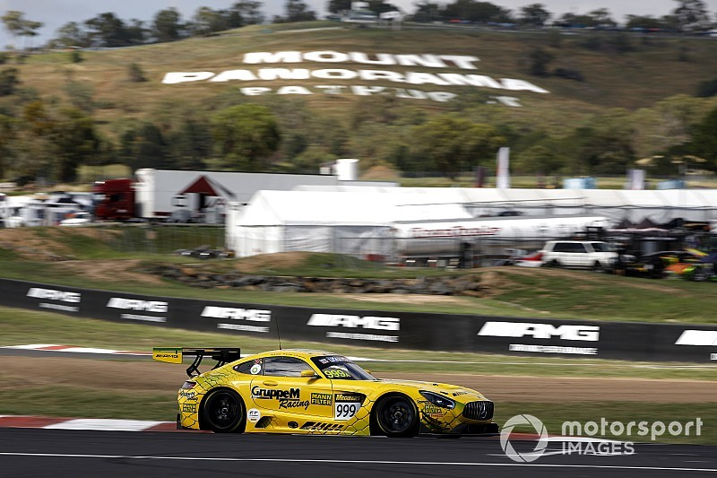 Bathurst 12 Hour: GruppeM Mercedes tops crash-marred practice