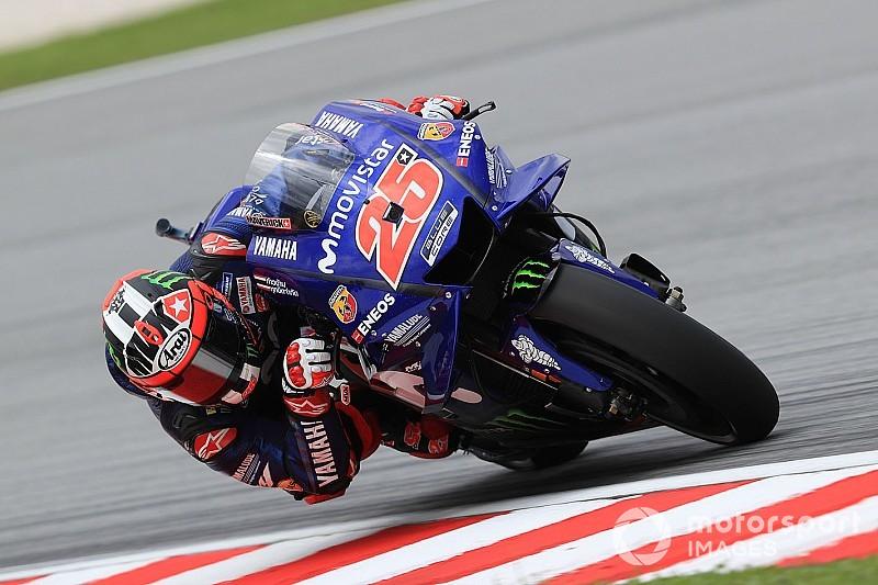 MotoGP FT3 in Sepang: Vinales und Marquez machen das Tempo