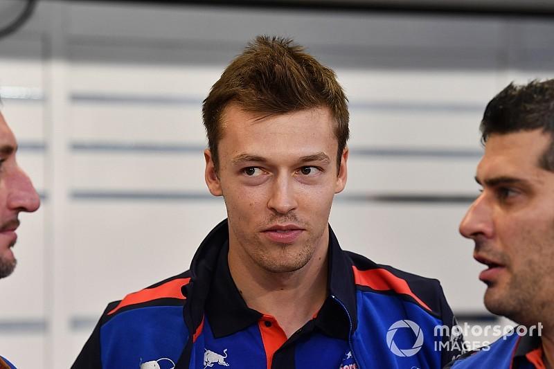 Toro Rosso, Kvyat:
