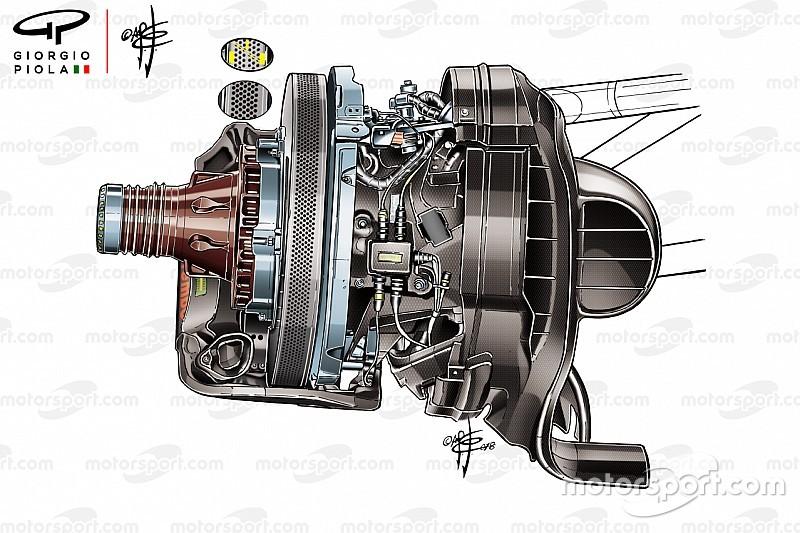 Ferrari tim pertama gunakan cakram rem dengan 1.400 lubang