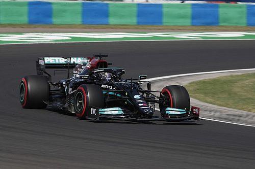 Mercedes első sor a Magyar Nagydíjon, Verstappen csak harmadik