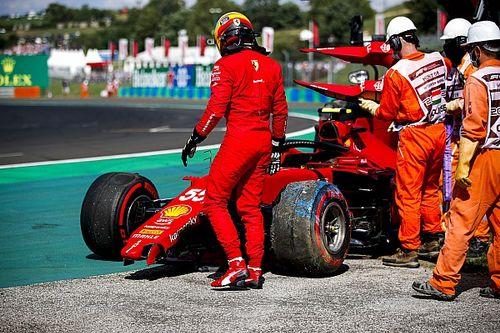"""F1: Sainz lamenta batida """"estranha"""" e Leclerc garante que Ferrari poderia colocar dois carros no Q3"""