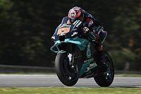Brno MotoGP: Quartararo leads Petronas 1-2 in FP2