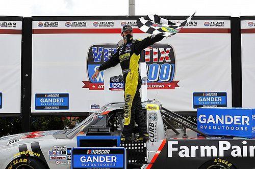 Enfinger bests Austin Hill in OT for Atlanta Truck win