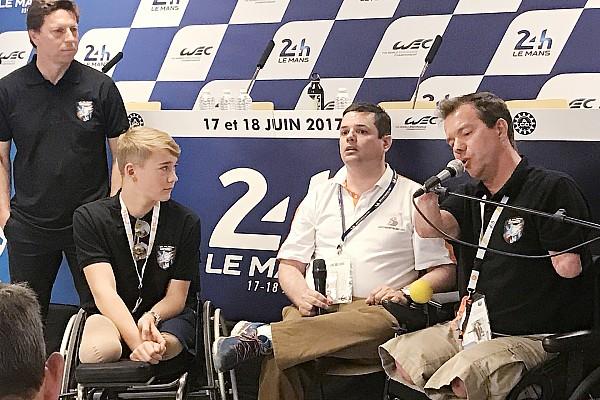 Le Mans Noticias de última hora El primer cuadramputado en terminar Le Mans y Monger inician un nuevo proyecto