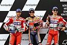 Starting grid MotoGP Austria 2017