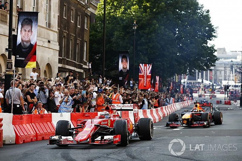 Marsilya, Fransa GP öncesi Londra tarzı F1 Live gösterisine ev sahipliği yapacak