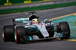 Australian GP: Hamilton fastest in first practice of F1 2017