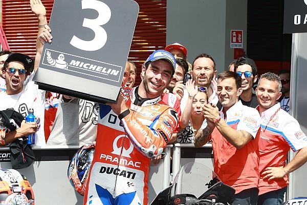 MotoGP Petrucci: A házam is eladtam volna ezért a dobogóért!