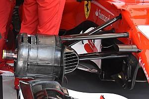 Formula 1 Analisi Ferrari: Vettel ha scelto la vecchia sospensione come in Giappone