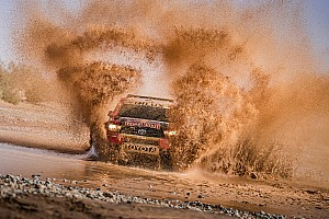 Cross-Country Noticias Al Attiyah manda en la primera parte de la Marathon del Rally de Marruecos