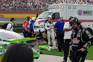 NASCAR Cup Отчет о гонке Кайл Буш закончил серию побед в больнице