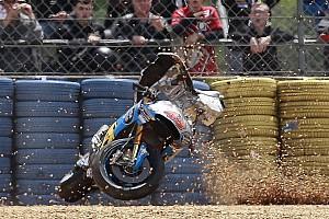 【MotoGP】ロレンソ「神からの警告だ」とミラーのクラッシュを語る