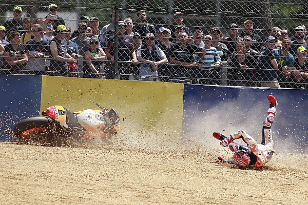 Marquez must be less aggressive or risk injury - Schwantz