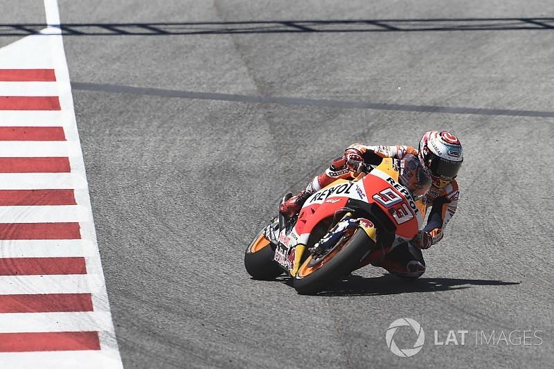 Márquez satisfait du pneu symétrique fourni par Michelin