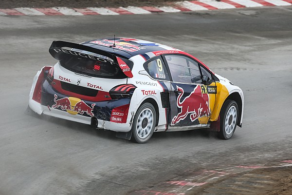 World Rallycross Actualités Peugeot va